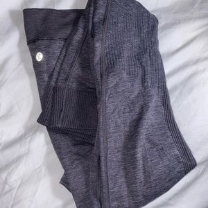 Lululemon purple knit leggings